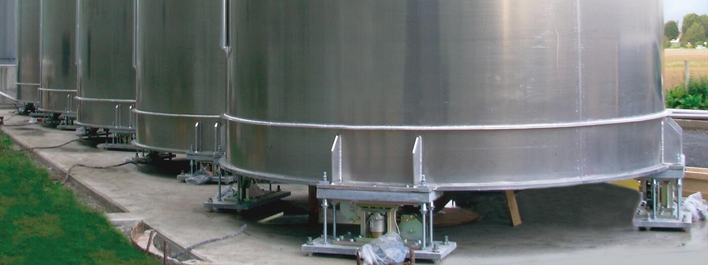 Cảm biến lực ứng dụng cân bồn và silo